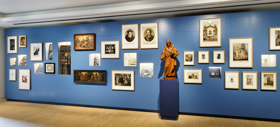 Exhibition at the Melanchthon House in Wittenberg