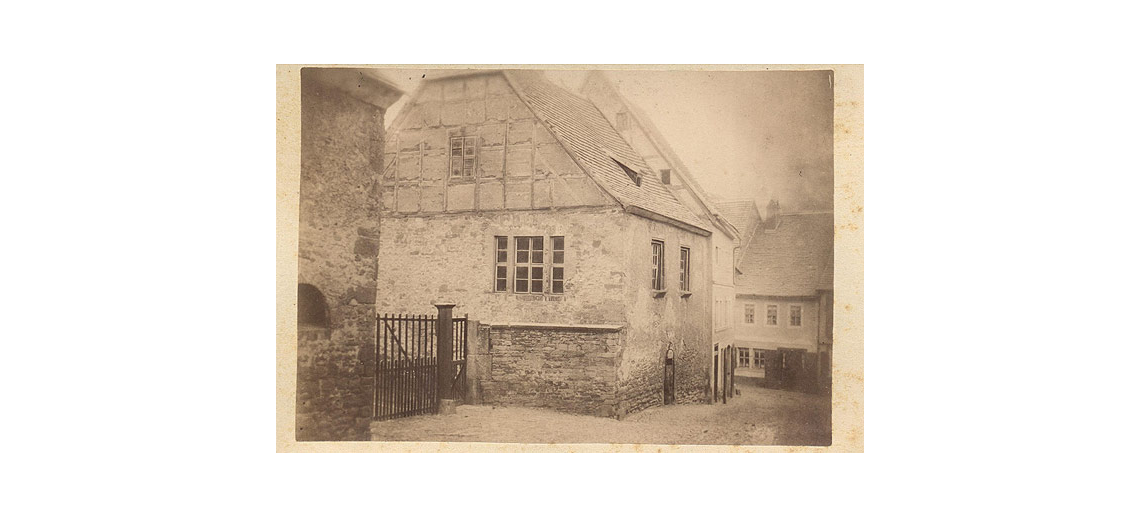 Luther's Parents' Home before 1885