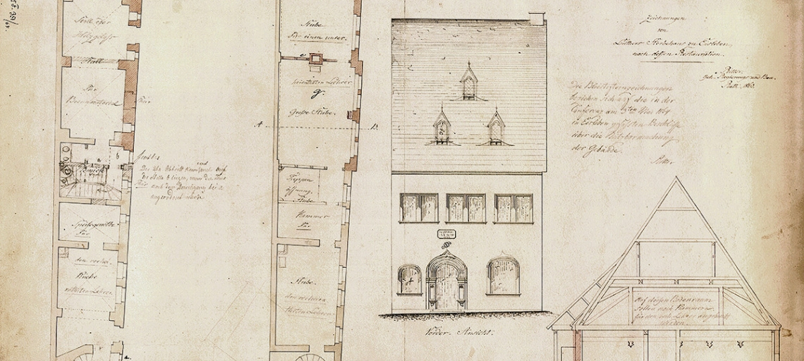 Design Drawings for the Redesign, 1863