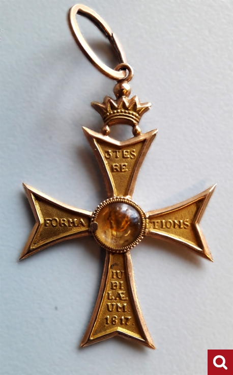 Reformation cross, 1817