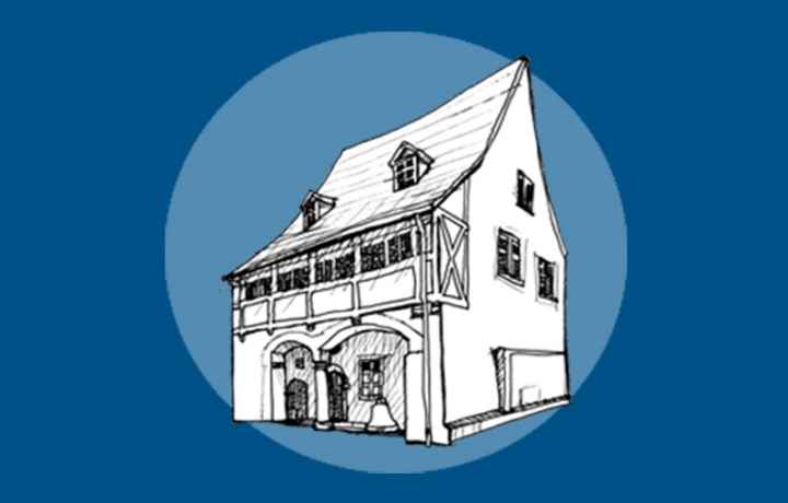 illustration of Luther's Birth Place