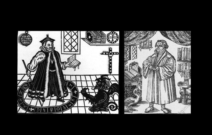 Luther und Faust